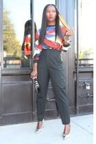 Topshop shirt - Marc Jacobs bag - Zara pants
