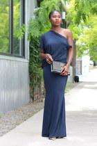 ibby Libby dress - Yves Saint Laurent bag - JCrew heels