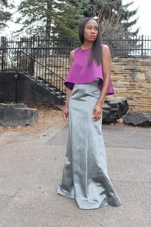 Top top - Skirt skirt - heels heels