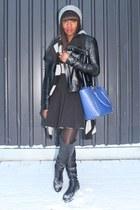 Zara hat - Veda jacket - Valentino bag - Alexander Wang skirt