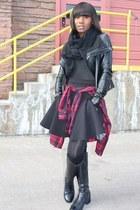 Veda jacket - Zara shirt - Alexander Wang skirt