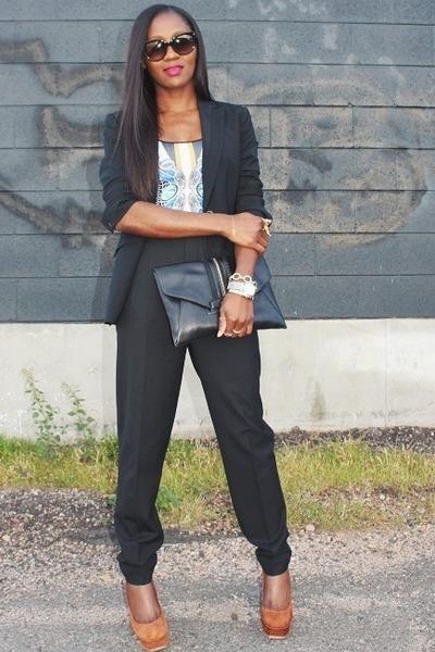YSL shoes - Givenchy bag - Clover Canyon top - Zara pants