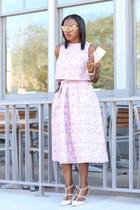Furla bag - christian dior sunglasses - Valentino heels - asos skirt - asos top