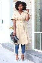 Club Monaco dress - madewell jeans - Chanel bag - Urban Outfitters sunglasses