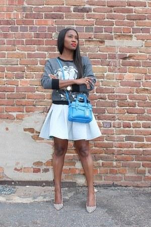 Jacket jacket - Skirt skirt - sweatshirt sweatshirt - heels heels