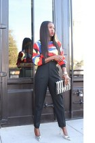 Marc Jacobs bag - Zara pants - Manolo Blahnik heels - Topshop top
