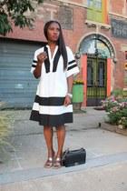 madewell dress - Chanel bag - Jcrew sandals