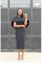 baublebar bracelet - AQ AQ dress - Chanel bag - Oliver Peoples sunglasses