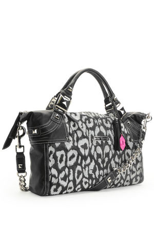 black Betsey Johnson bag