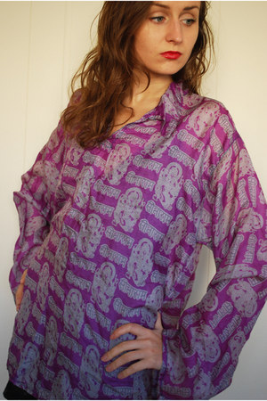 100 silk unknown brand blouse
