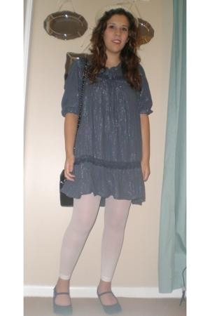 dress - Target leggings - doll house shoes - hat