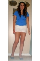 Ralph Lauren t-shirt - Express shorts - - hat