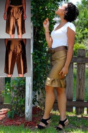 petal sleeves Charlotte Russe top - Target heels