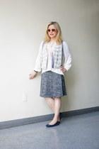 Dakini skirt - Versace 1969 sunglasses - linen thrifted vest
