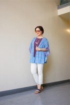 Gap jeans - mirror lens Urban Outfitters sunglasses - BeachLunchLounge cardigan