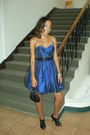 Blue-alyce-designs-dress-black-alyce-designs-belt-black-carlo-fellini-purse-