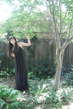 long dress Black Maxi dress