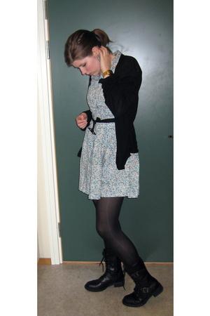 Din Sko shoes - boyfriends - Primark dress