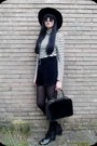 Black-topshop-boots-black-h-m-hat-off-white-vintage-sweater