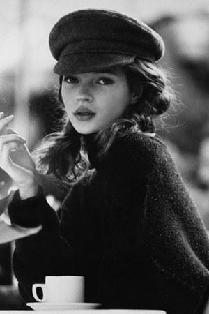 black hat - black cape