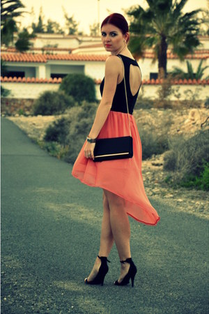 Emamoda dress - Primark bag - new look heels