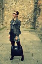 Fiorelli bag - H&M dress - H&M jacket - new look heels