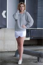 white ISABEL MARANT POUR H&M vest - heather gray Vila sweater