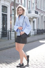 Sky-blue-h-m-trend-shirt-black-asos-scarf-black-zara-bag-black-h-m-skirt