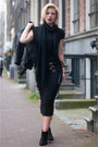 Black-sacha-boots-black-h-m-trend-dress-black-h-m-jacket