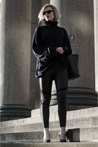 navy maison martin margiela X H&M sweater - black H&M DRAGON TATTOO leggings
