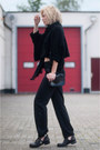 Black-buckle-cut-out-sacha-boots-black-zara-sweater-black-v-d-scarf