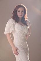 ivory escada dress