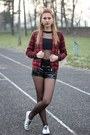 Ruby-red-zara-jacket-black-h-m-shirt-black-h-m-shorts