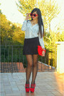 White-foymall-shirt-red-vintage-bag-red-zerouv-sunglasses