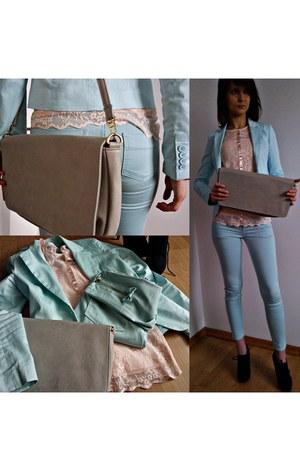 Mohito jeans - Deichmann shoes - Mohito jacket - Mohito bag - Mohito blouse