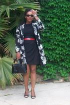black Bicci Florine Wachter vintage thrifted dress