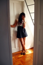 t-shirt - made by my mom skirt - shoes