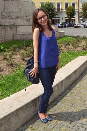 jeans - H&M shirt