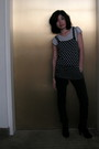 Gray-h-m-shirt-black-blu-chic-top-gray-bdg-pants-black-me-too-boots