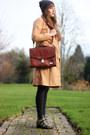 Black-choies-boots-bronze-milanoo-coat