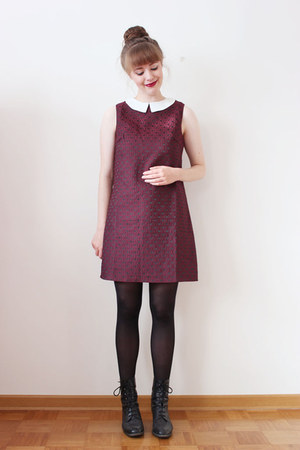 crimson Poppy Lux dress