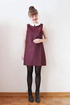 crimson Poppy Lux dress