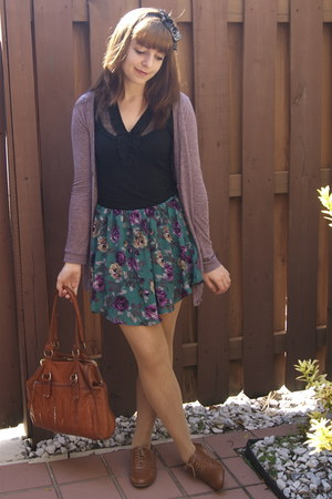 amethyst Urban Outfitters cardigan - nude lace tights Target tights