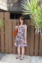Macys dress - modcloth purse - modcloth shoes - necklace