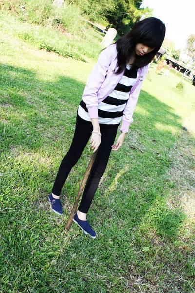 jacket - jeans - t-shirt - shoes - accessories