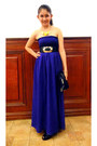 Purple-chiffon-get-laud-dress-black-marithe-francois-girbaud-purse