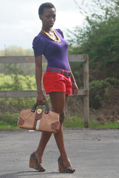 Red Forever 21 Shorts, Purple David Buffalo Ts, Shirts, Brown ...