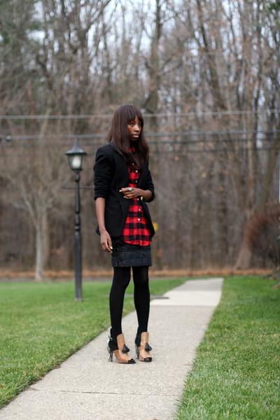 Ralph Lauren blazer - Marshalls shirt - Zara heels