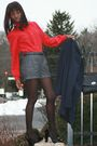 Forever-21-shorts-blouse-max-azria-shoes