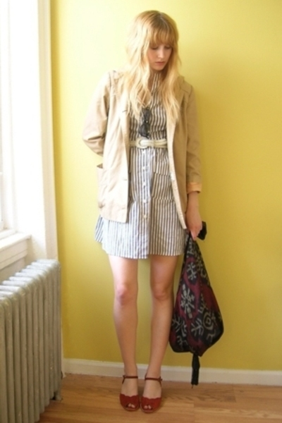 belt - Lux via Beacons Closet - vintage from Beacons Closet jacket - vintage fro